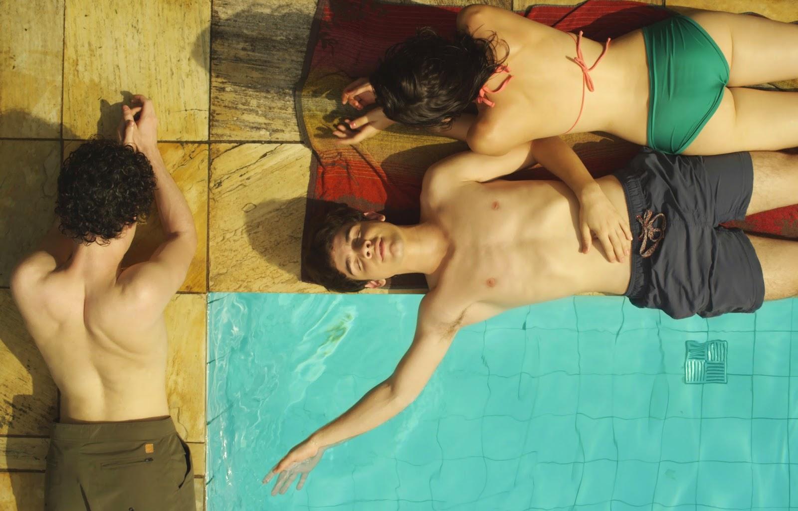 Bikini fashion shoot