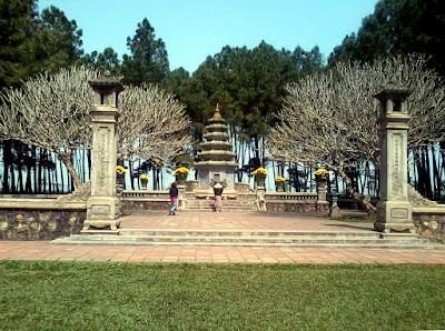 フエ ティエンムー寺院