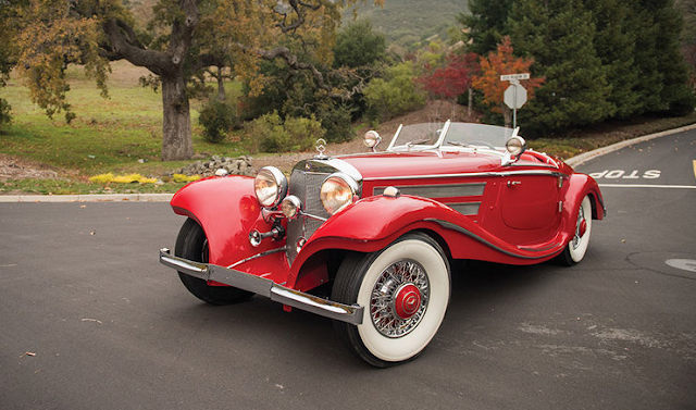 1937 Mercedes-Benz 540 K Special Roadster Review