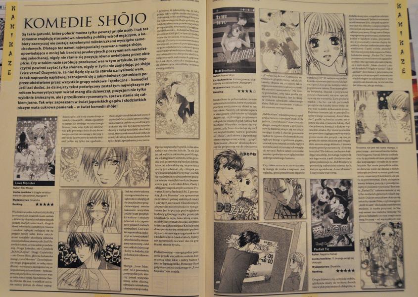 Mangazyn - magazyn o mandze i anime