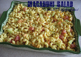 Now Things Are Cookin Macaroni Salad