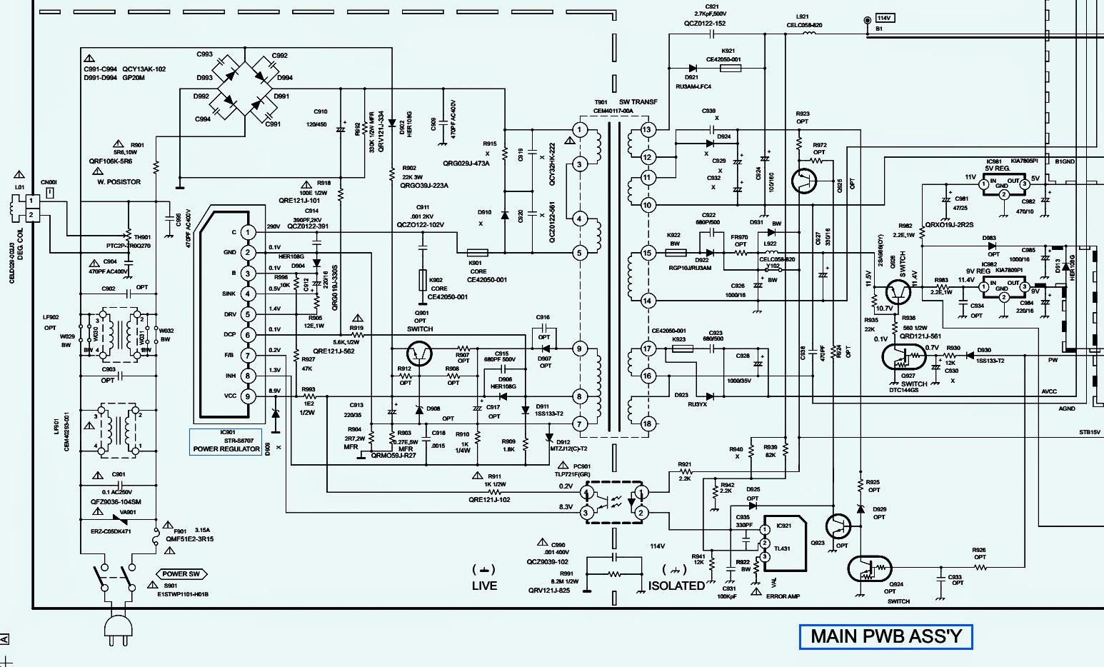 How To Enter Service Mode Onida Ctvs Smps Circuit Diagram Schematic