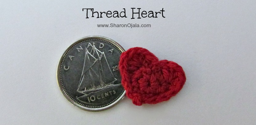 dime and heart together