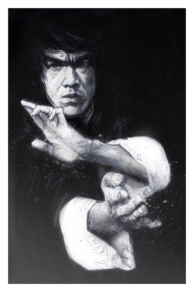 Tomas Overbai (US) - Bruce Lee art collection @ YellowMenace