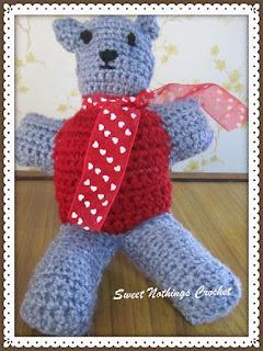 free crochet pattern, free crochet teddy bear pattern, free crochet amigurumi teddy bear pattern,