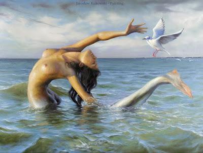 sirenas-marinas-pinturas-al-oleo