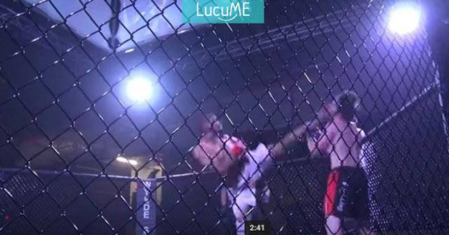 Petarung MMA Ini Meng-KO Lawannya Pakai Jurus Pencak Silat, Keren!