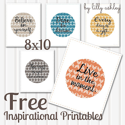 free inspirational printables free download chevron watercolor boho