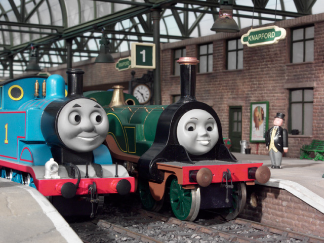 The Thomas And Friends Review Station S7 Ep 1 Emily S New Coaches