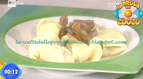 Cappellacci provola e spinaci con ragù d'anatra ricetta Zoppolatti da Prova del Cuoco