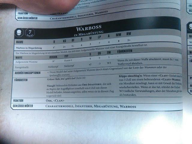 Orkos Warhammer 40000