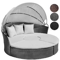 Un canapé en cercle pour le jardin modulable.