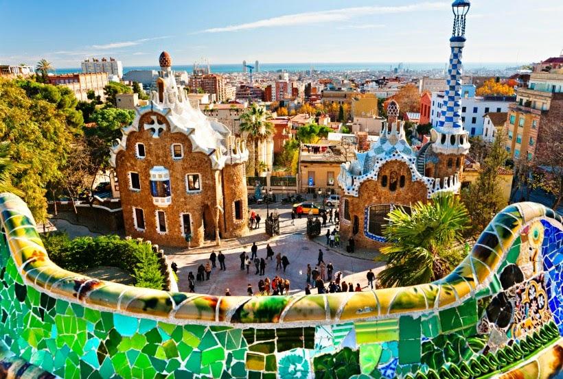 Parque Guell Barcelona - Ponto turistico