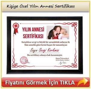 en iyi anne sertifikası