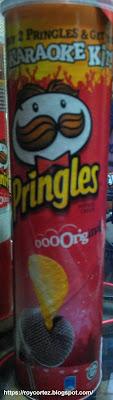 pringles karaoke kit pack