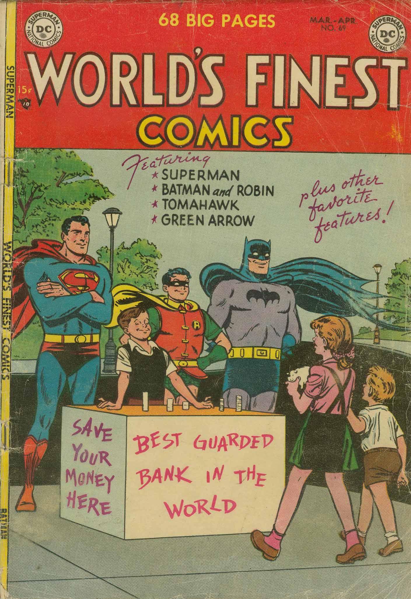 Read online World's Finest Comics comic -  Issue #69 - 1