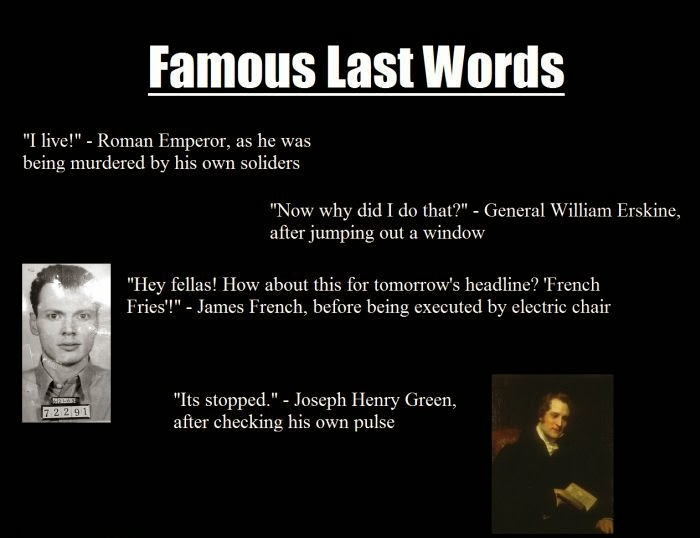 Last Words Funny Quotes. QuotesGram