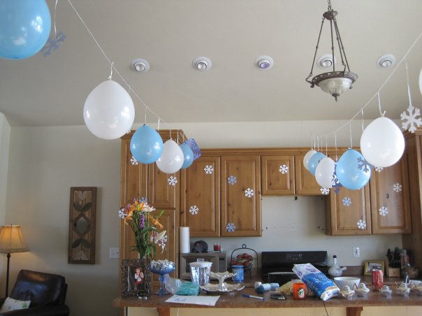 Winter Kids Birthday Party Ideas
