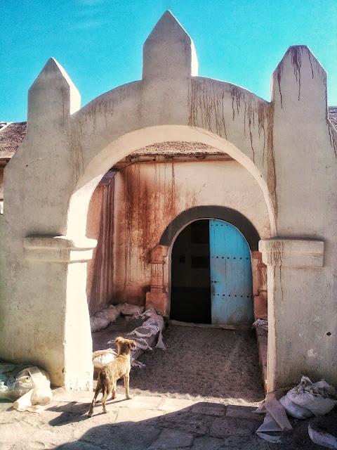 igrejinha no deserto em San Pedro de Atacama, Chile