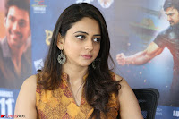 Rakul Preet Singh smiling Beautyin Brown Deep neck Sleeveless Gown at her interview 2.8.17 ~  Exclusive Celebrities Galleries 229.JPG