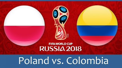 Live Streaming Poland vs Colombia Piala Dunia 25.6.2018