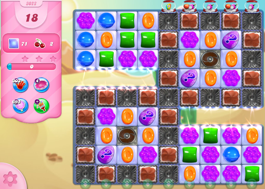 Candy Crush Saga level 3023