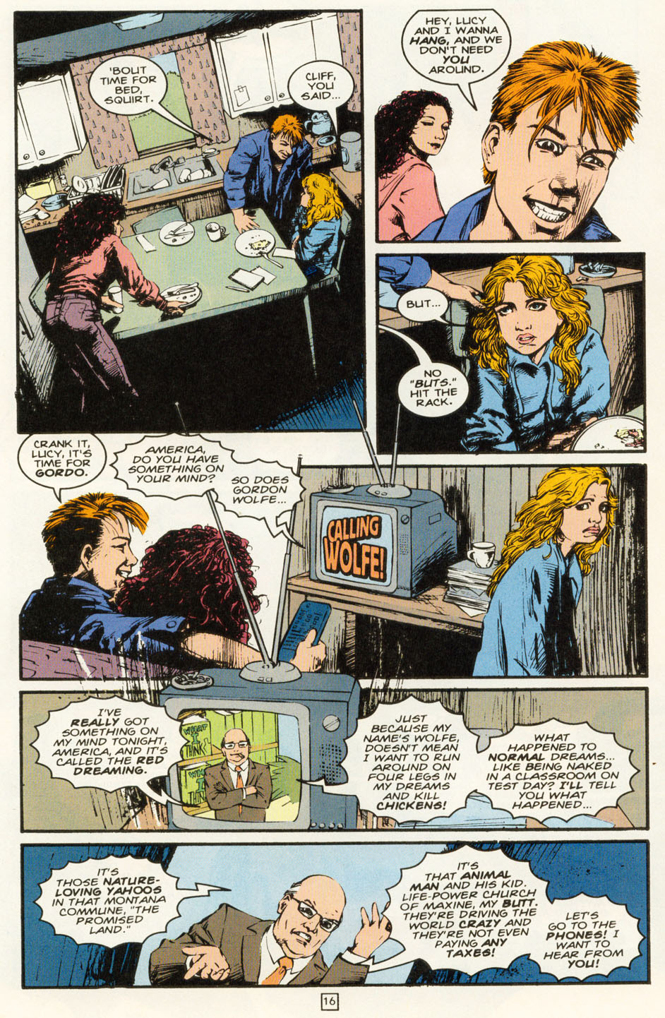 Read online Animal Man (1988) comic -  Issue #81 - 17