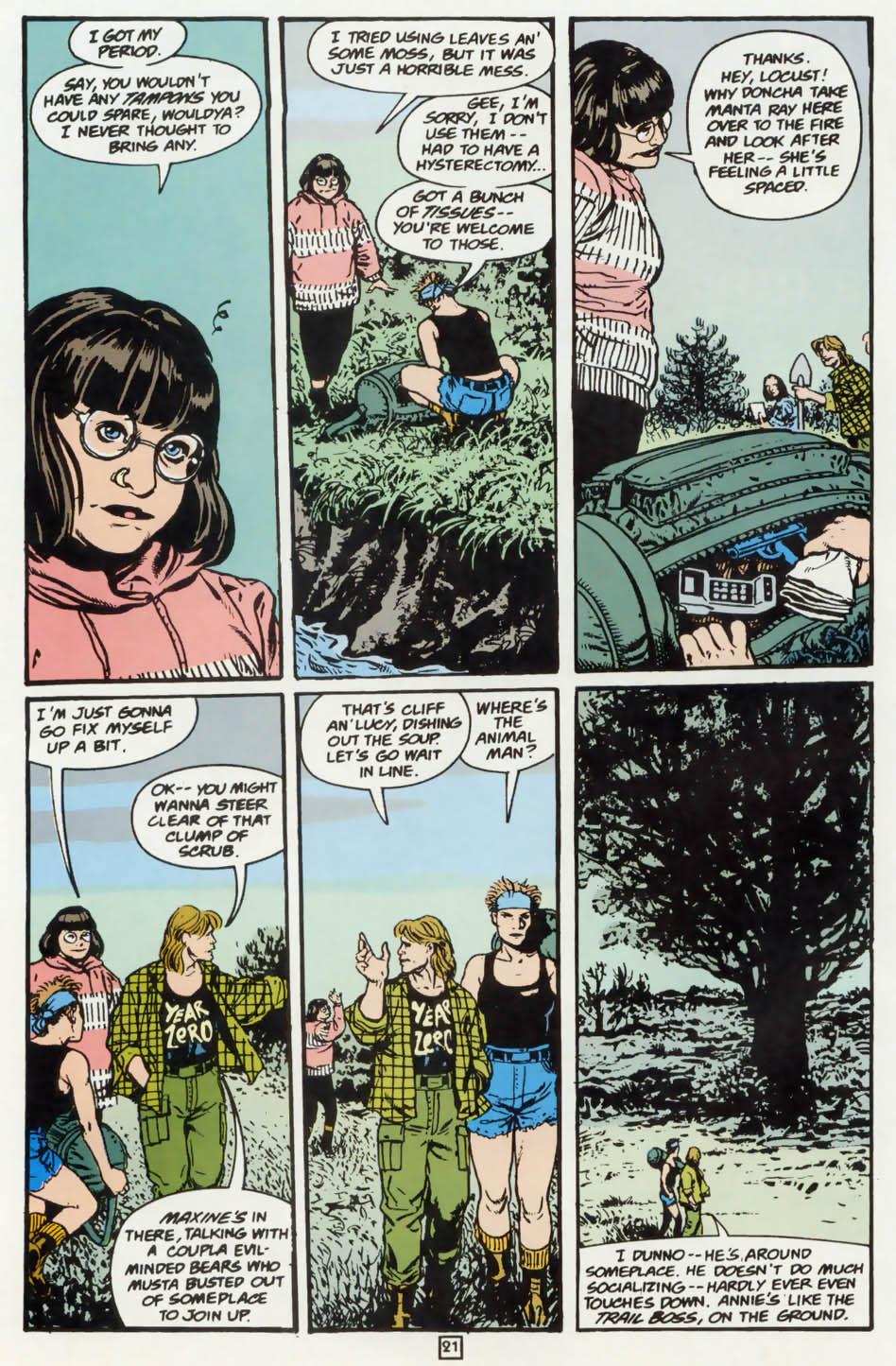 Read online Animal Man (1988) comic -  Issue #75 - 22