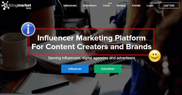 Apa itu Iblogmarket? Aset Sosial Media Jadi Mesin Penghasil Uang