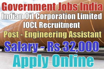 Indian Oil Corporation Limited IOCL Recruitment 2017