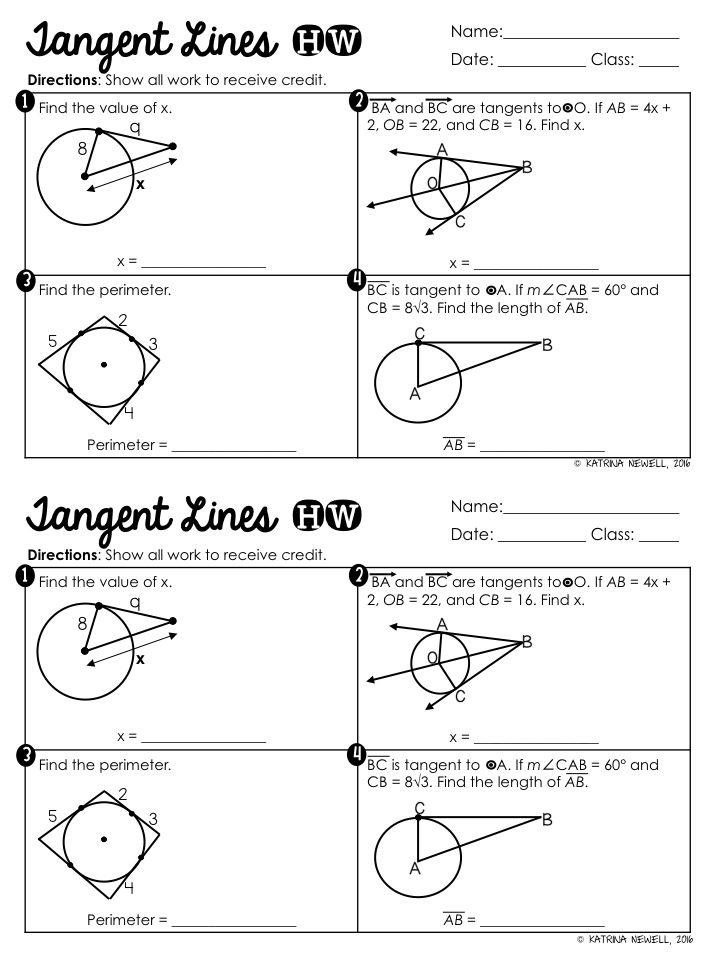 Circle Basics Unit Part 1 Mrs Newells Math – Geometry Circles Worksheet