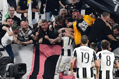 Juventus qualify for UEFA Champions League final spot after beating Monaco 2-1