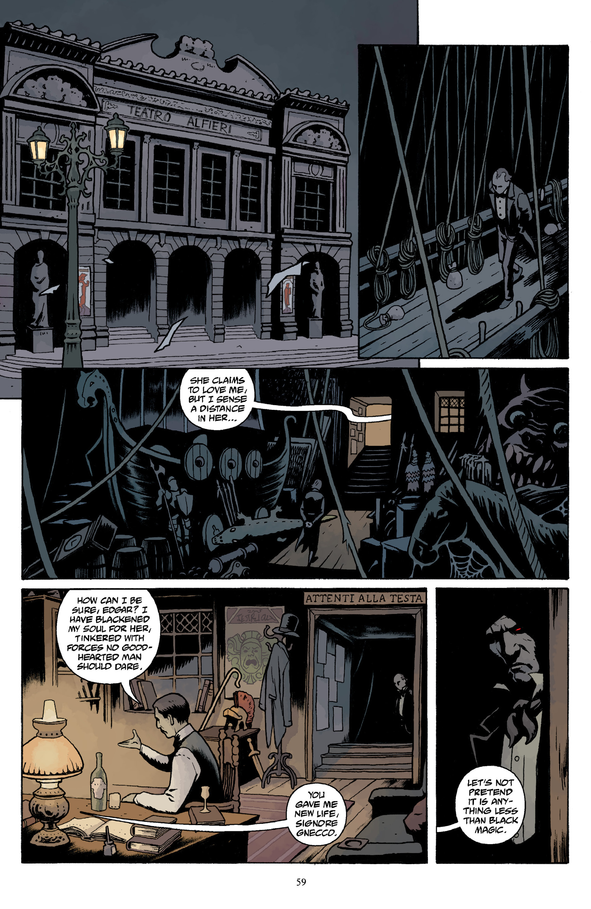 Read online Baltimore Volume 3: A Passing Stranger and Other Stories comic -  Issue # Full - 61