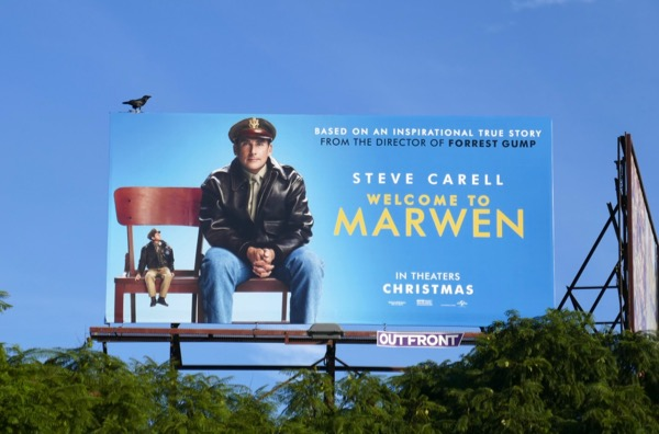 Welcome to Marwen movie billboard