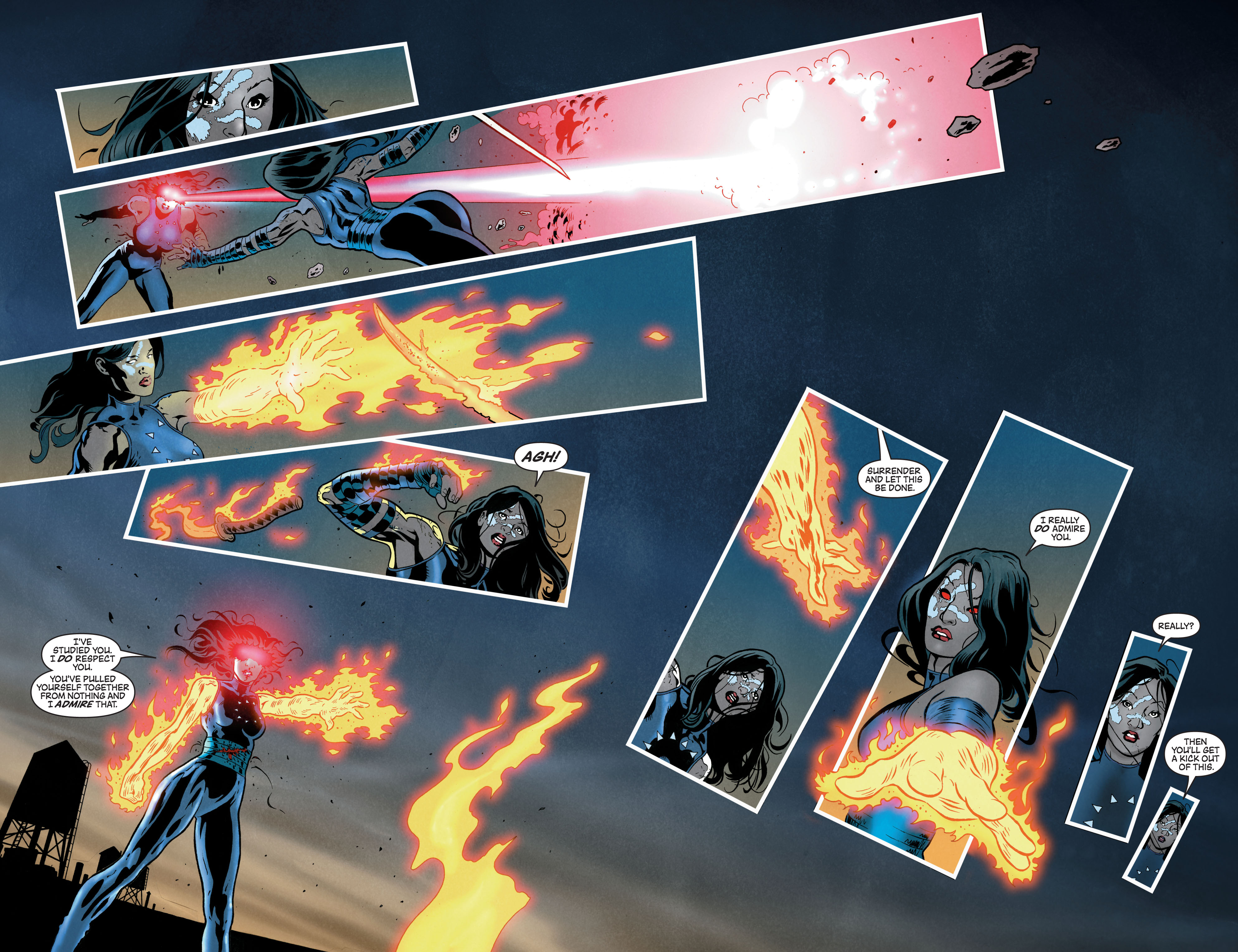 Read online Secret Invasion: The Infiltration comic -  Issue #7 - 12
