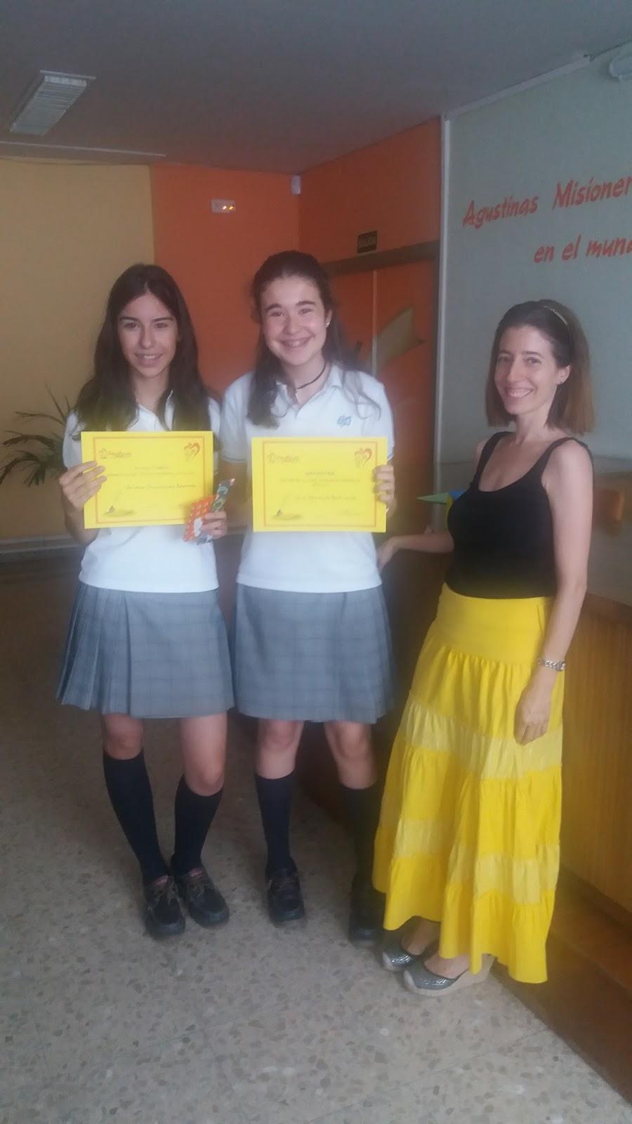 Agustinas Valladolid - 2017 - ESO - Concurso Escritura Rápida