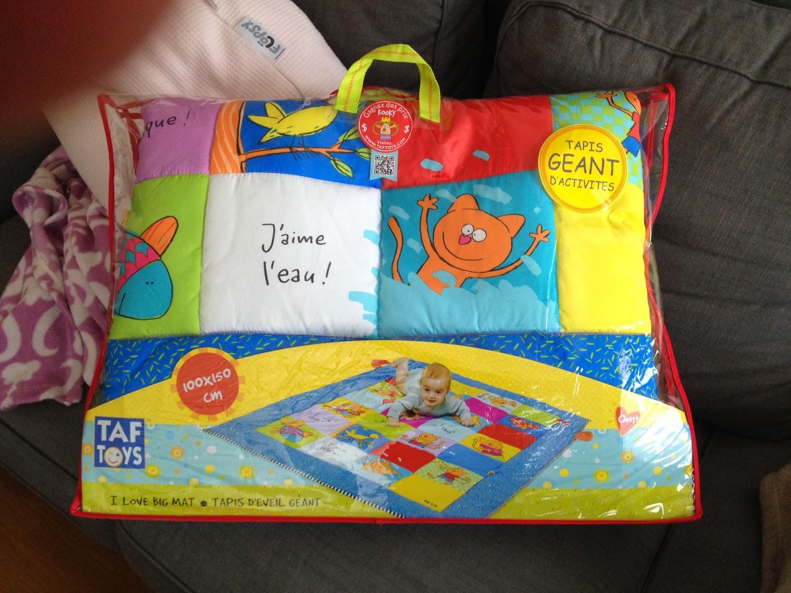blog d une jeune maman astuces conseils tests produits activites avec bebe tapis d eveil geant