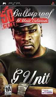 50 Cent: Bulletproof PSP GAME