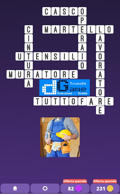 Soluzioni One Clue Crossword livello 17 schemi 2 (Cruciverba illustrato)  | Parole e foto