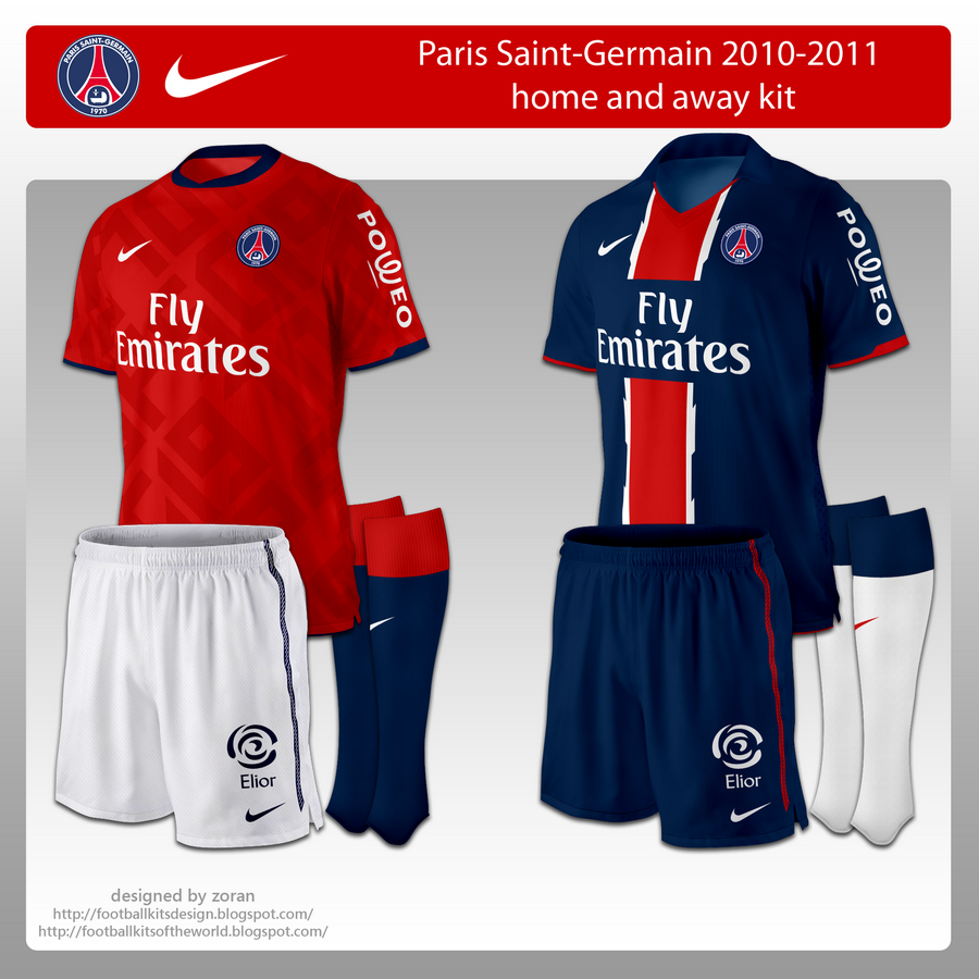 c88e8aff1c5 Full name: Paris Saint-Germain Football Club City: Paris Season: 2010-2011.  League: Ligue 1. Stadium: Parc des Princes Founded: 1970. Shirt sponsor: ...