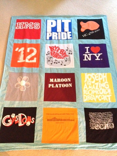Bethany's T Shirt Blanket