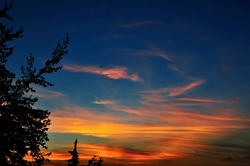Nach dem Sonnenuntergang...