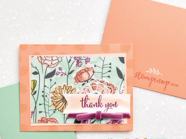 Stampin' Up! Watch It Wednesday - Make A Difference Stamp Set by Stampin' Up!