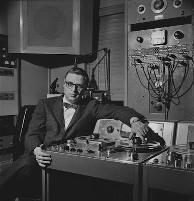 Recording engineer Rudy Van Gelder