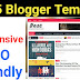 Top 5 free blogger templates 2018 - Responsive, Seo Friendly