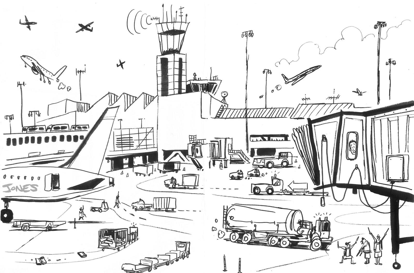 Matt Jones: September 2012Airport Coloring Pages