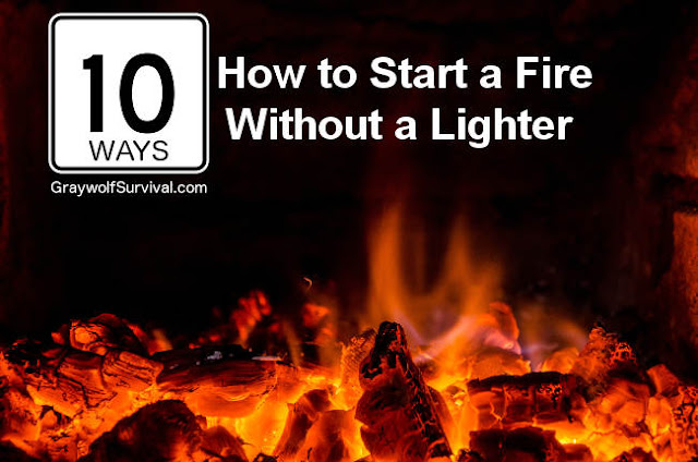 http://graywolfsurvival.com/3137/creative-ways-start-fire-without-lighter/