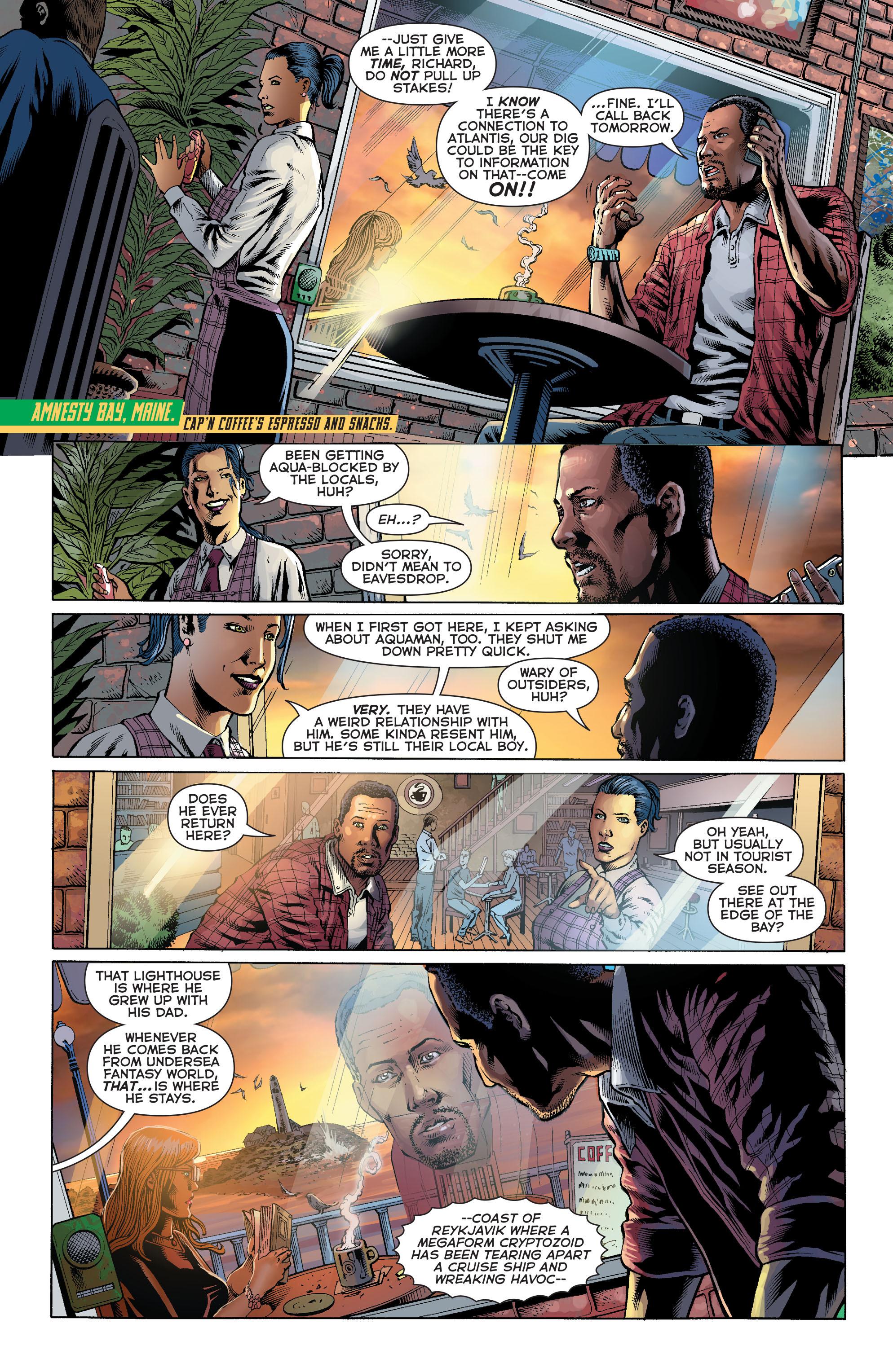 Read online Aquaman (2011) comic -  Issue #27 - 2