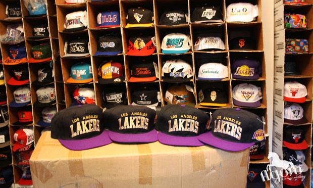 La Lakers Starter Arch Snapbacks - Agora Clothing Blog f853e8f6518
