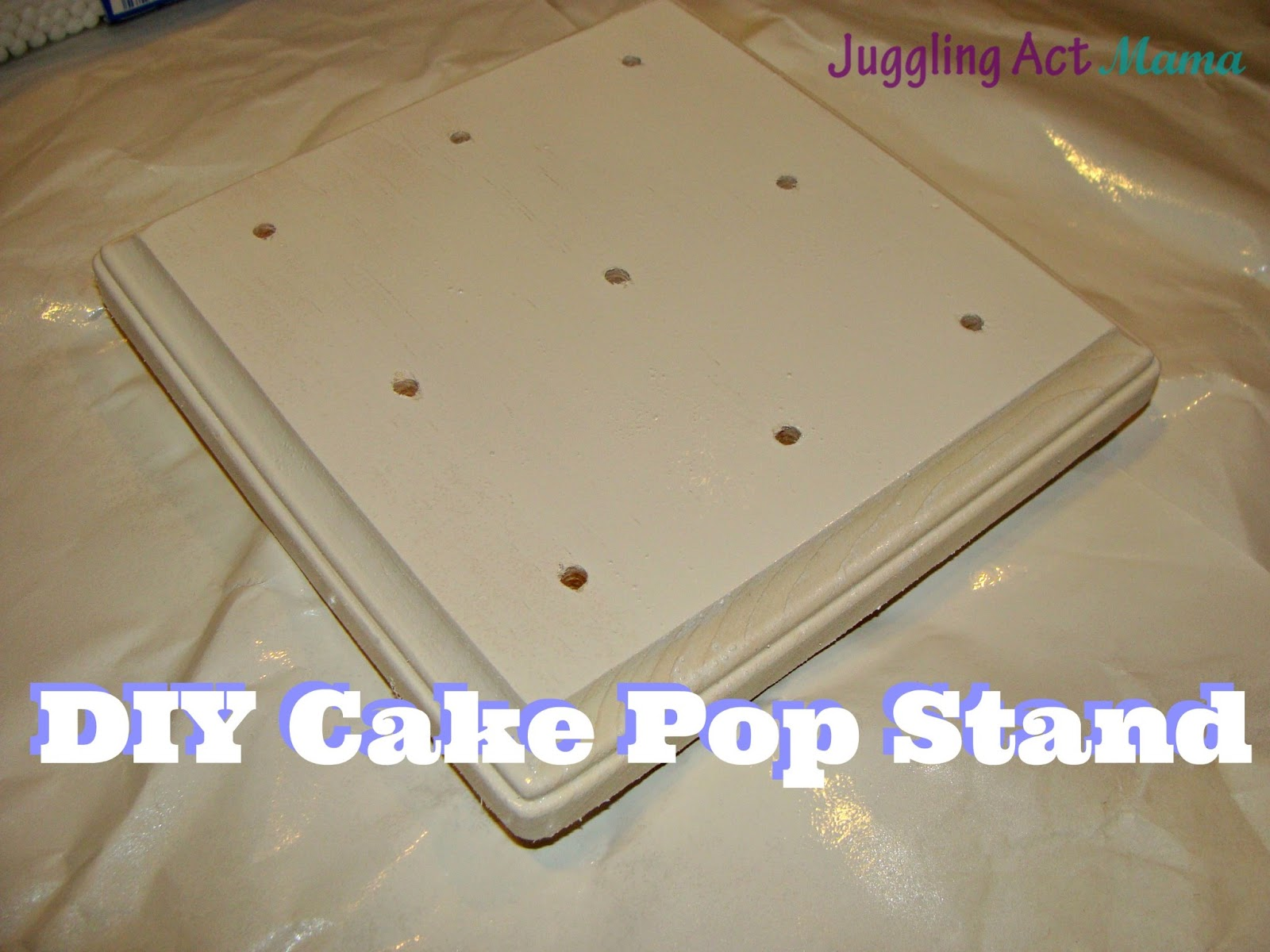 Plaque  Ef Bf Bd Cake Pop